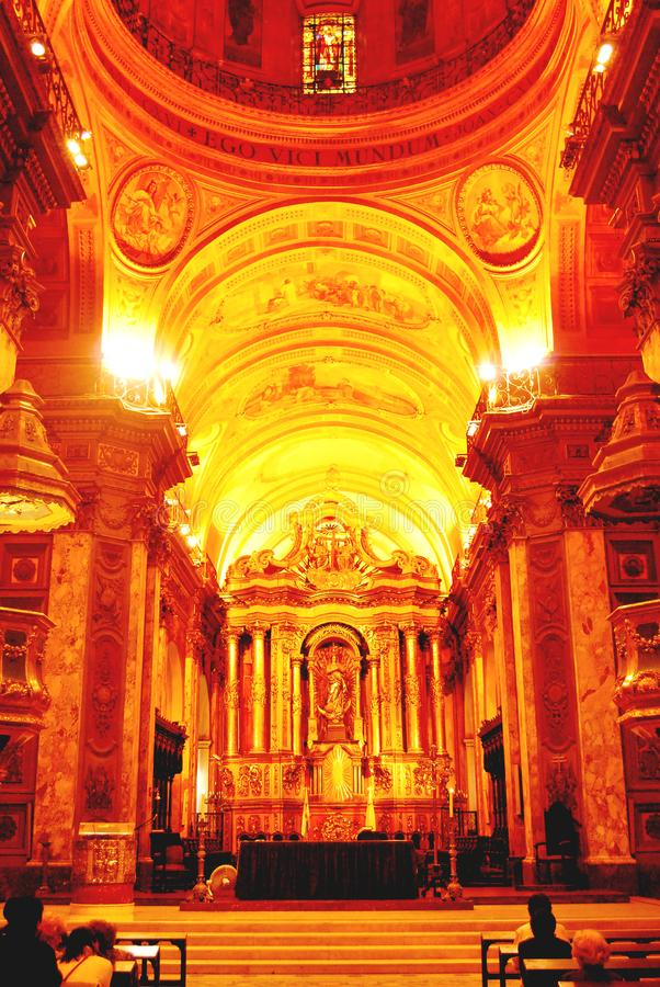 Catedral Metropolitana de Buenos Aires fotos de archivo