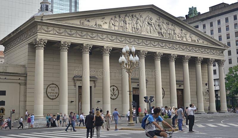 Catedral metropolitana de Buenos Aires, la Argentina fotografía de archivo libre de regalías
