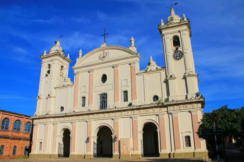 Catedral metropolitana de nuestra señora de la suposición en Asuncion fotos de archivo libres de regalías