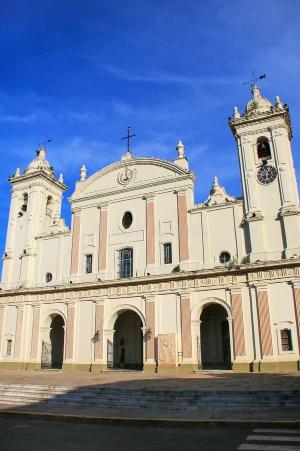 Catedral metropolitana de nuestra señora de la suposición en Asuncion imágenes de archivo libres de regalías