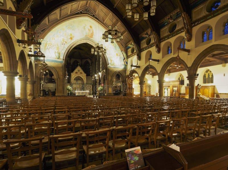 Catedral metropolitana del ` s de St Mary en Edimburgo imagen de archivo libre de regalías
