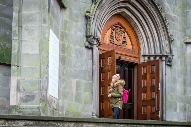 Catedral metropolitana do ` s de St Mary, Edimburgo em Edimburgo, Reino Unido foto de stock