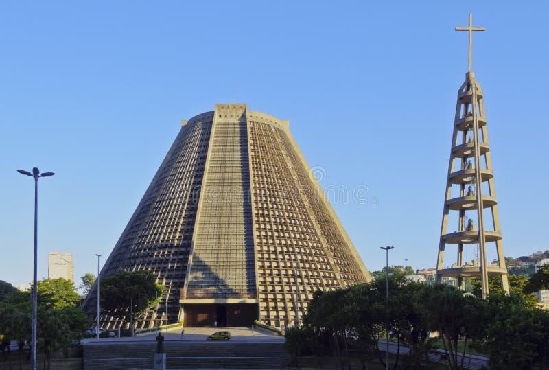 Catedral metropolitana en Rio de Janeiro fotos de archivo libres de regalías