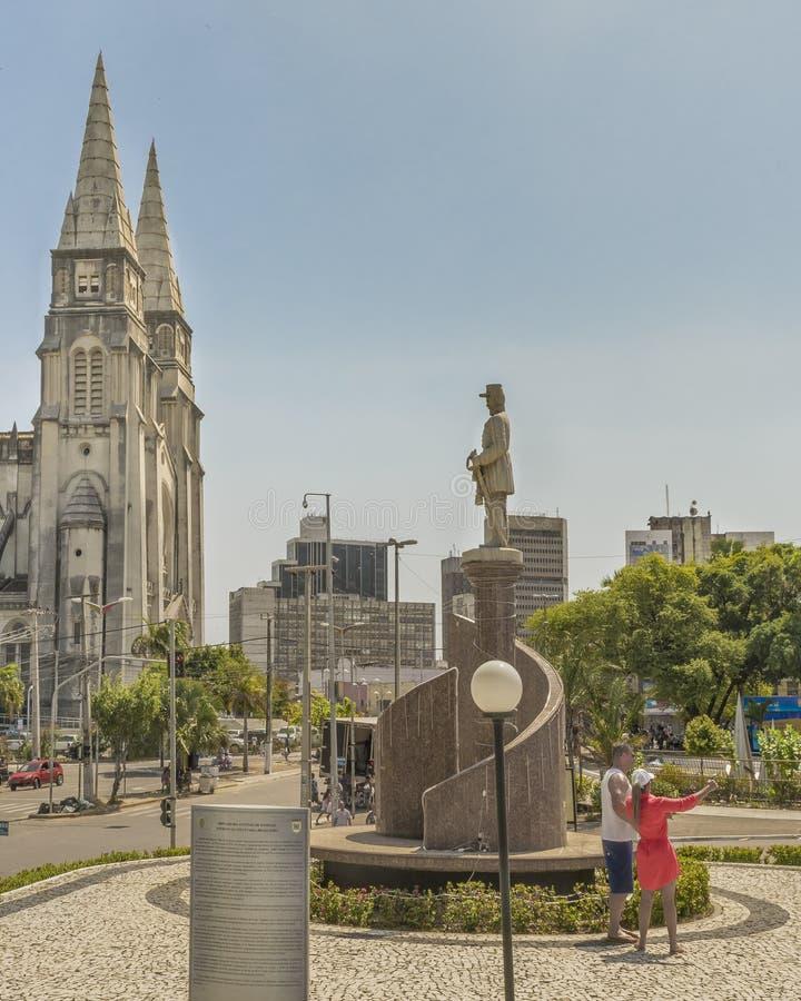 Catedral metropolitana Fortaleza el Brasil fotografía de archivo libre de regalías