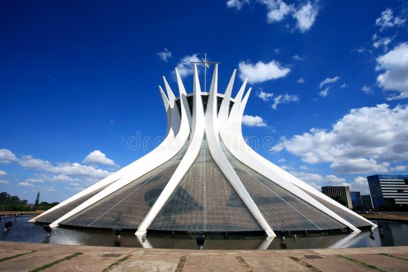 Catedral Metropolitana Nossa Senhora Aparecida imagen de archivo