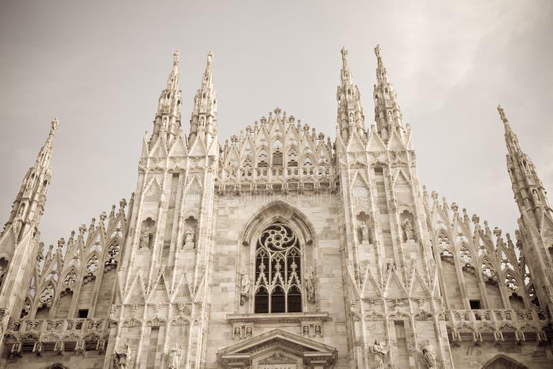 Catedral Milano, Italia imágenes de archivo libres de regalías