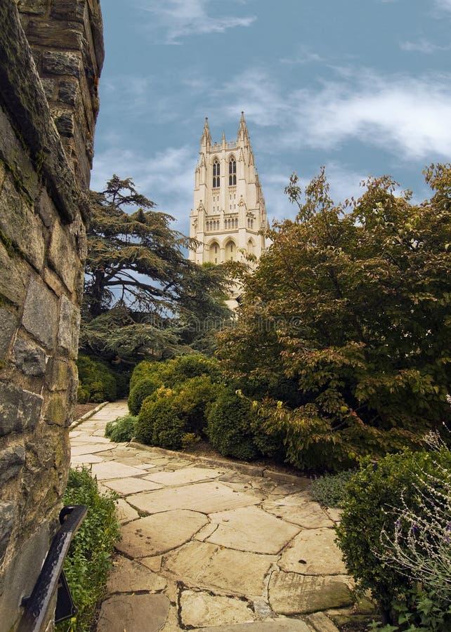 Catedral nacional foto de stock royalty free