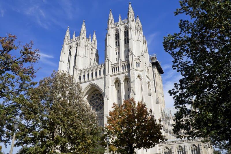 A catedral nacional fotografia de stock