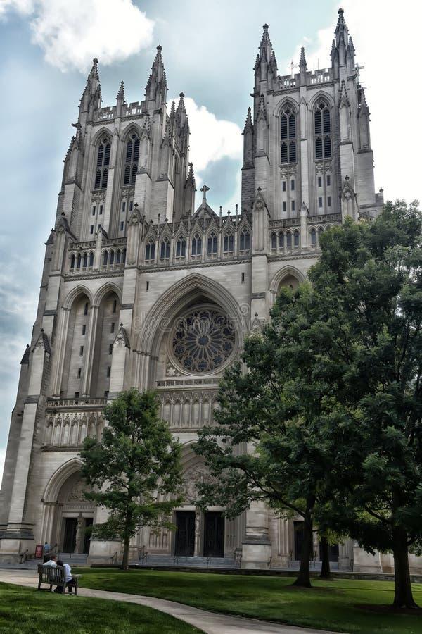 Catedral nacional fotografía de archivo