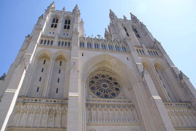 Catedral nacional imagem de stock