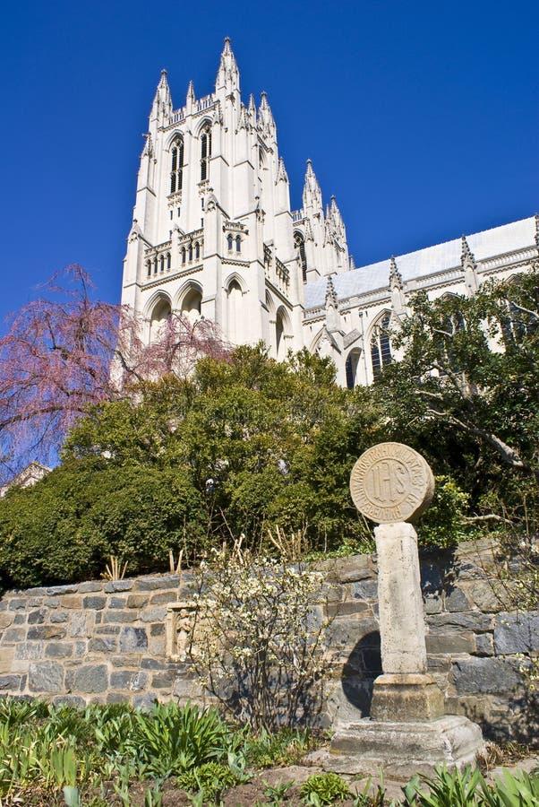 Catedral (nacional de Washington) imagenes de archivo