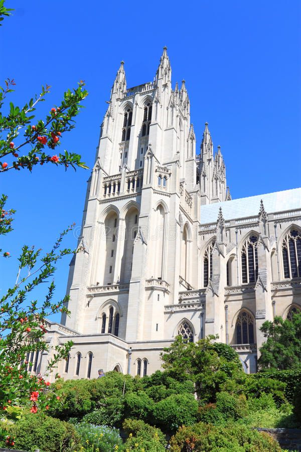 Catedral nacional Washington foto de stock