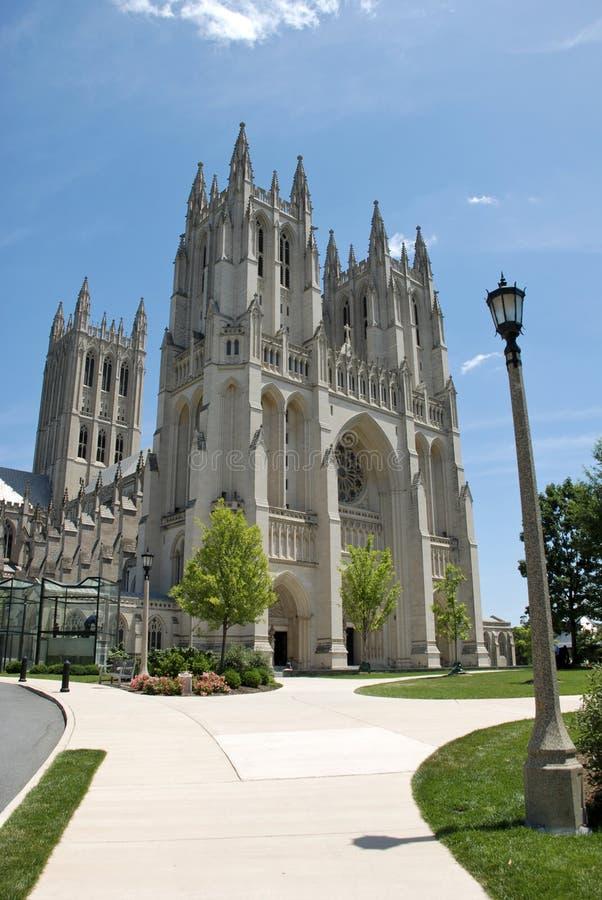 Catedral nacional, Washington DC fotos de stock royalty free