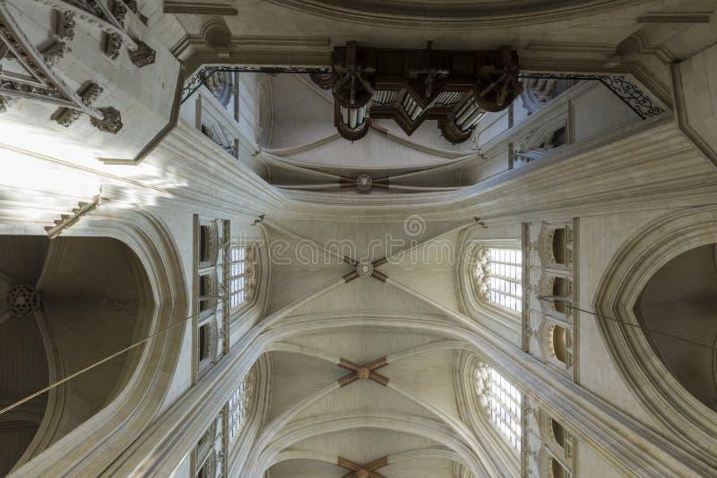 Download Catedral Nantes foto editorial. Imagen de creencia, órgano - 44854516
