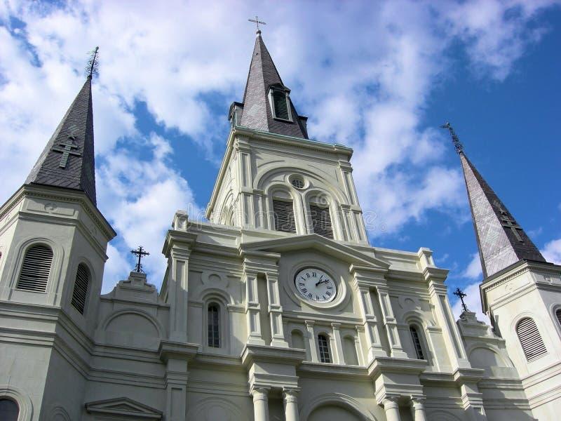 Catedral New Orleans de St. Louis fotos de archivo libres de regalías