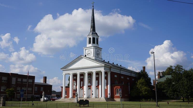 Catedral no bardstown fotografia de stock royalty free