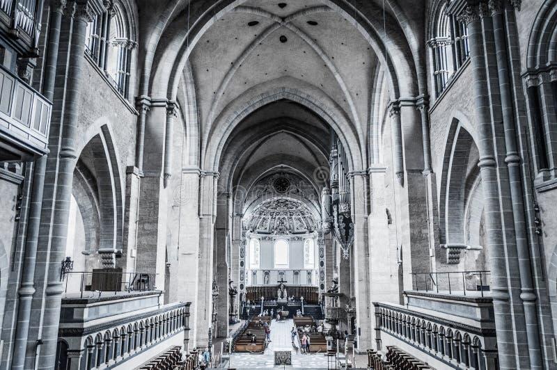Catedral no Trier, Alemanha imagens de stock