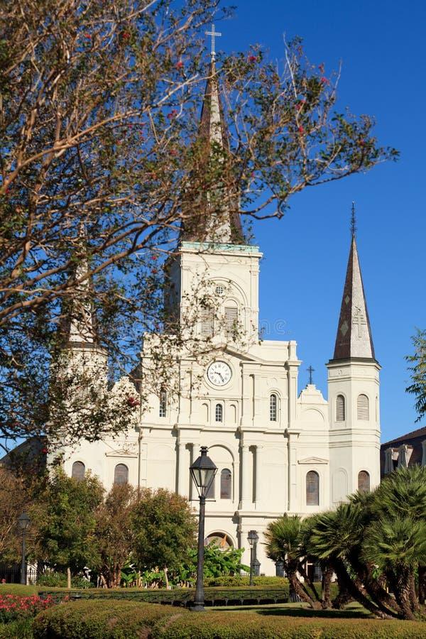Download Catedral Nova Orleães De St Louis Foto de Stock - Imagem de mardi, jackson: 16874330