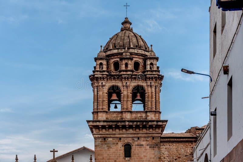 Catedral Nuestra Sra de Cusco la Asuncion, Perú de fotografía de archivo