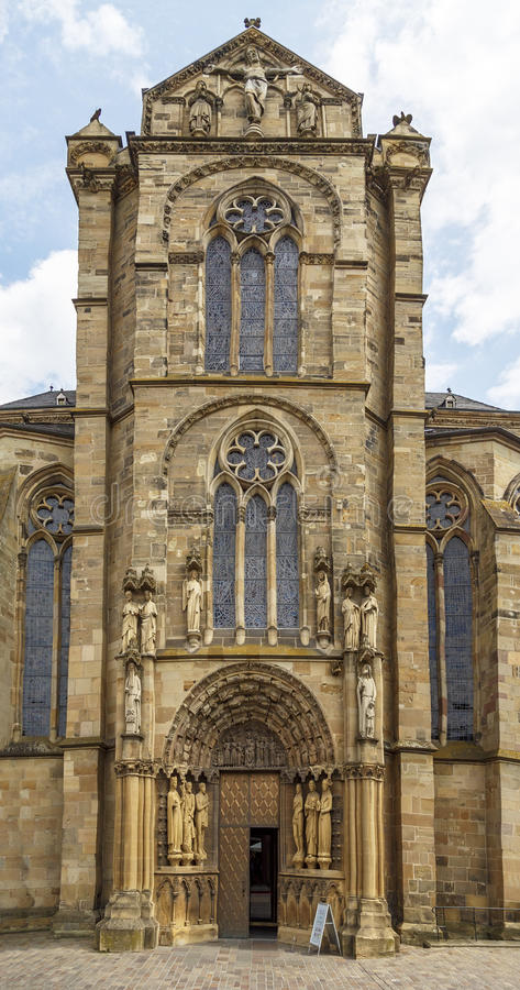 Catedral o Dom St del Trier. Peter imagen de archivo libre de regalías