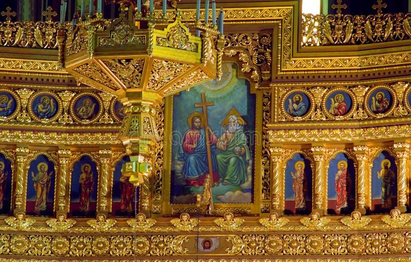 Catedral ortodoxa imágenes de archivo libres de regalías