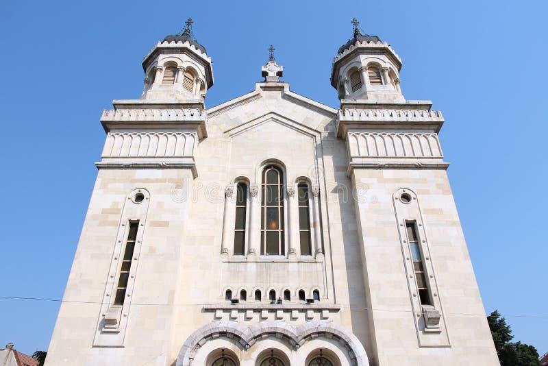 Catedral ortodoxa de Cluj-Napoca imágenes de archivo libres de regalías