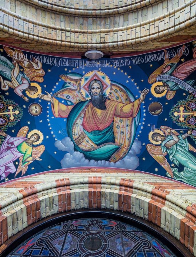 Catedral ortodoxa en Sibiu imagen de archivo libre de regalías