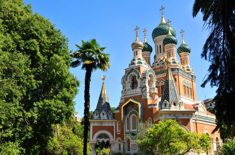 Catedral ortodoxo do russo foto de stock royalty free