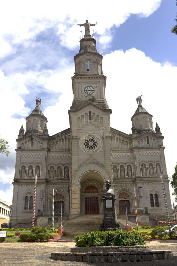 Catedral Ouro Fino стоковое фото