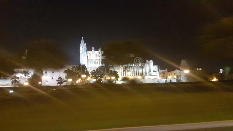 Catedral Palma fotografering för bildbyråer