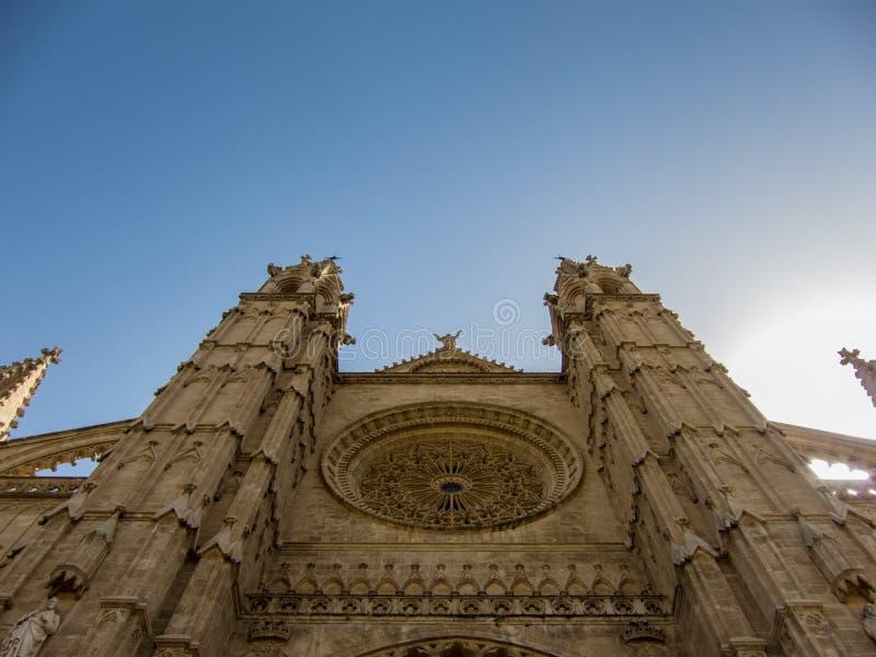 Catedral Palma de Mallorca foto de stock