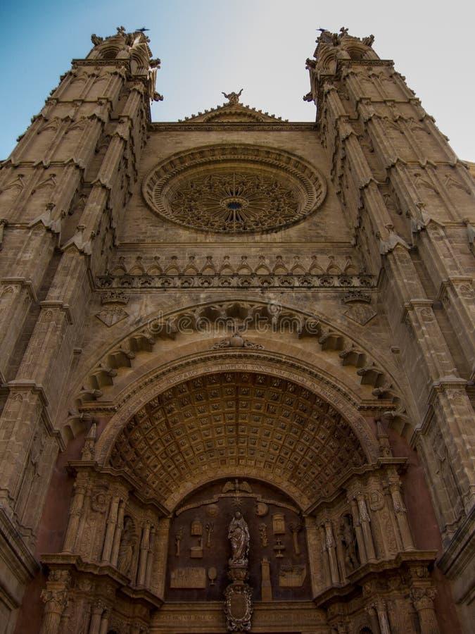 Catedral Palma de Mallorca imagem de stock