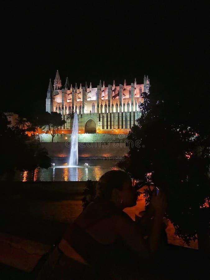 Catedral Palma fotografía de archivo libre de regalías