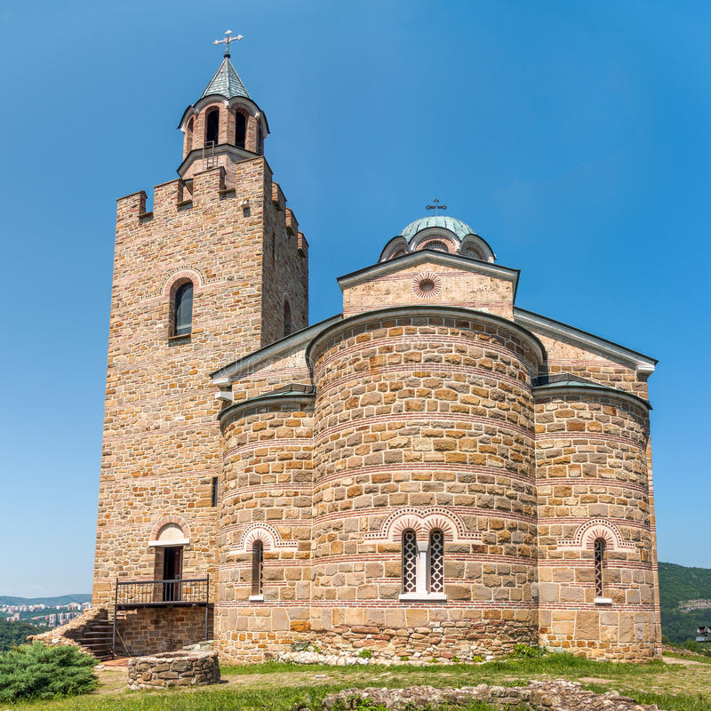 Catedral patriarcal restaurada mas unconsecrated de Ascensi santamente imagens de stock