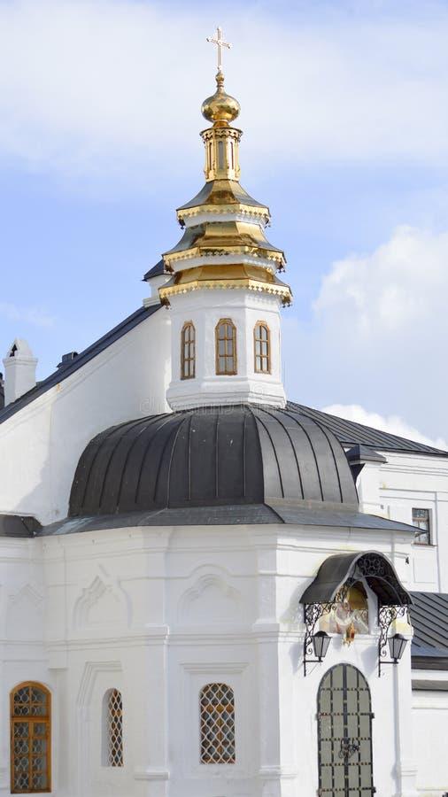 Catedral (Pokrovsky Sobor) Tobolsk imagem de stock