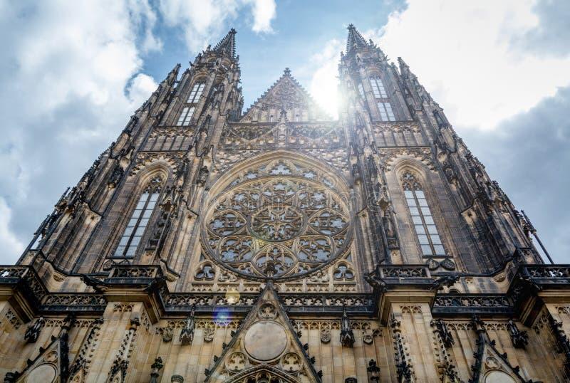 Catedral Praga del St Vitus imágenes de archivo libres de regalías