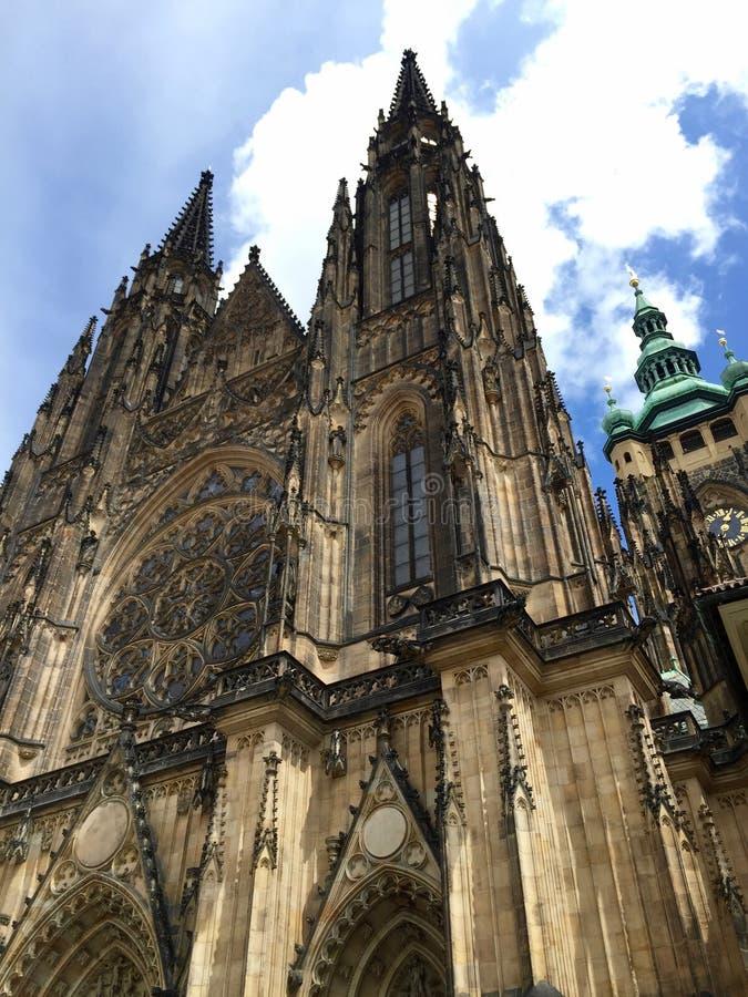 Catedral Praga del St Vitus fotografía de archivo libre de regalías