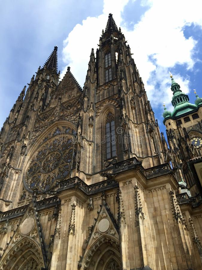 Catedral Praga do St Vitus fotografia de stock royalty free