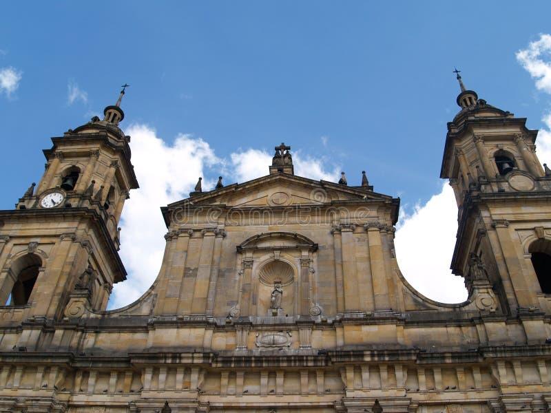 Catedral Primada de Colômbia imagens de stock