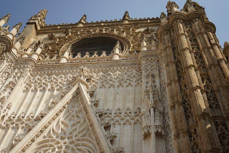 Catedral principal en Sevilla, España imágenes de archivo libres de regalías