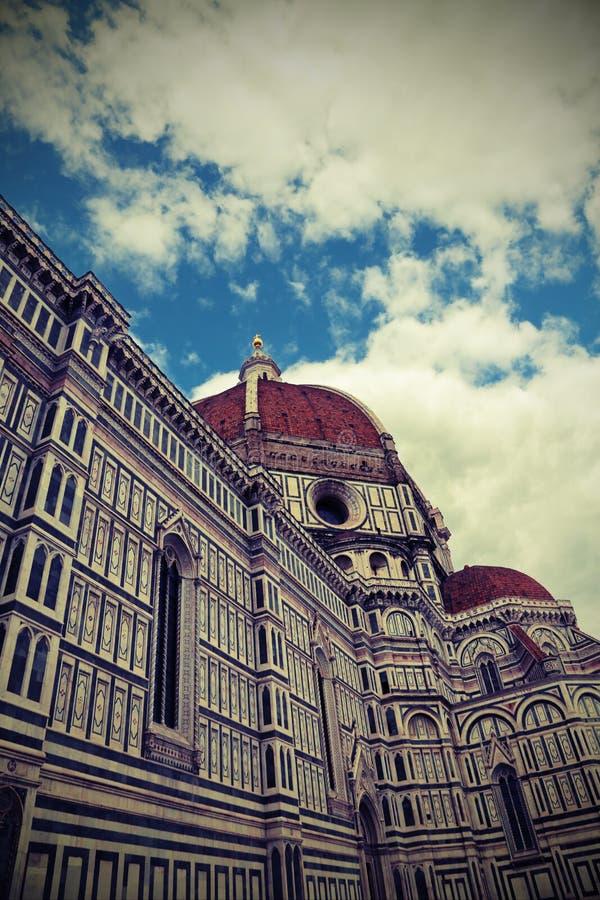 Catedral projetada pelo arquiteto Brunelleschi e o grande g imagens de stock royalty free