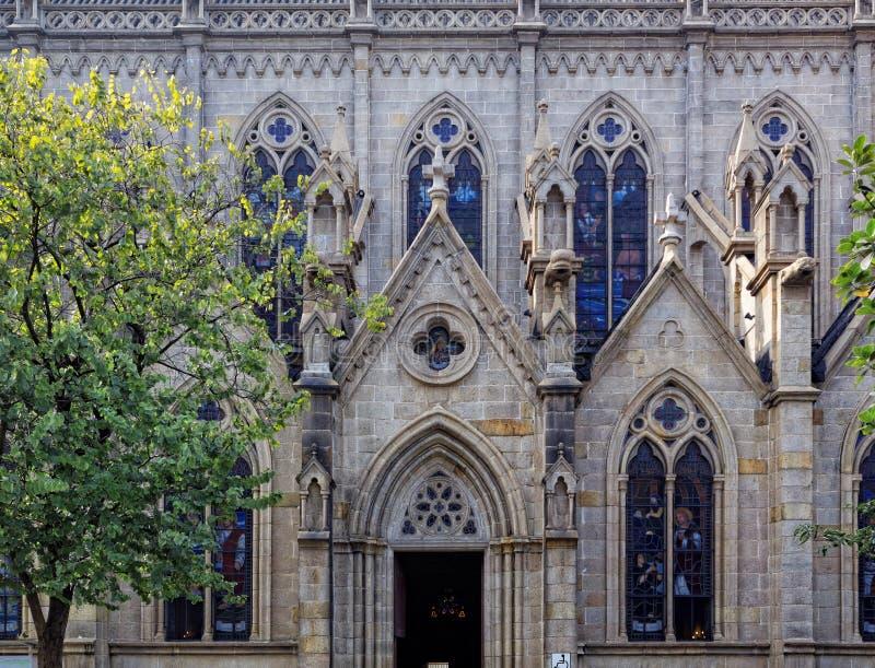 Catedral sagrada del corazón de Shishi en Guangzhou China foto de archivo libre de regalías