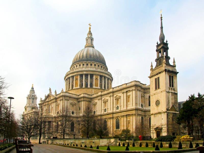 Catedral San Pablo fotos de archivo