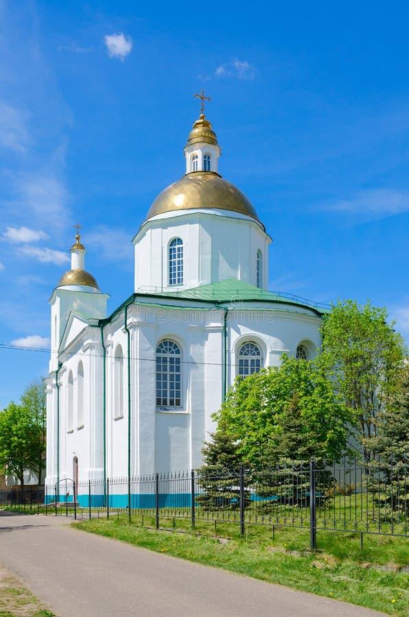 Catedral santa de la epifanía, Polotsk, Bielorrusia fotografía de archivo libre de regalías