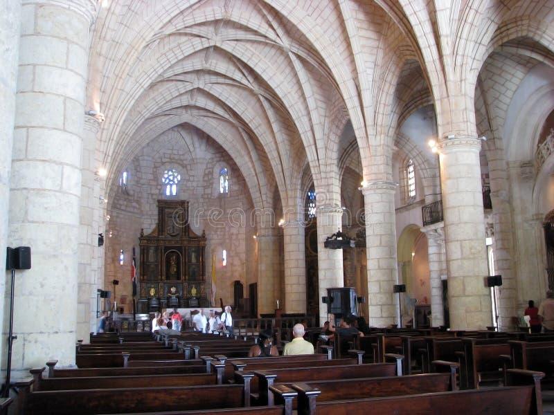 Catedral Santa María La Menor stock photography