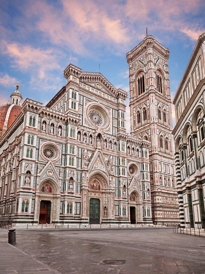 Catedral Santa Maria del Fiore de Florença imagem de stock royalty free