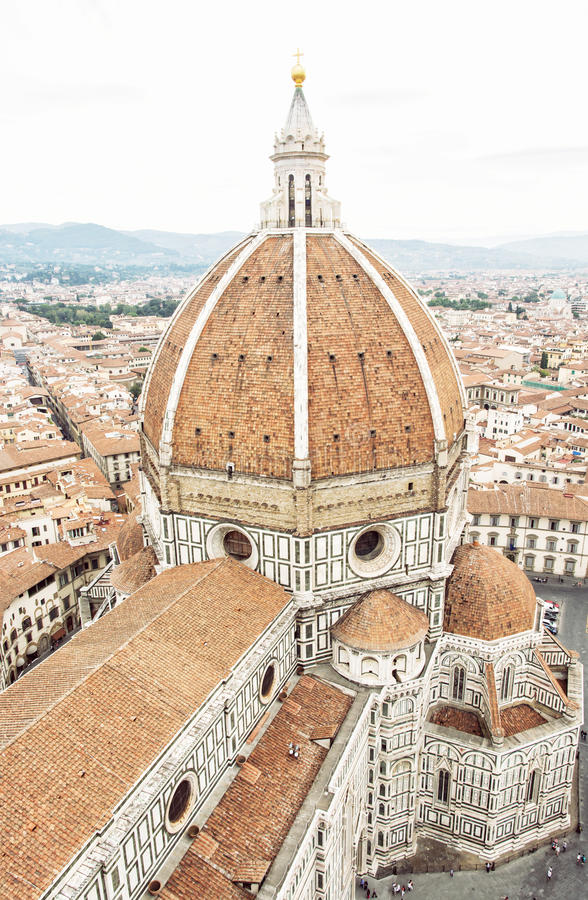 Catedral Santa Maria del Fiore, Italia, cuna de Florencia del r fotos de archivo