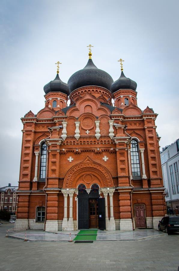 A catedral santamente de Dormition da cidade de Tula imagens de stock