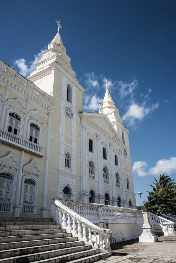 Catedral in sao Luis, Maranhao, Brasile fotografie stock libere da diritti