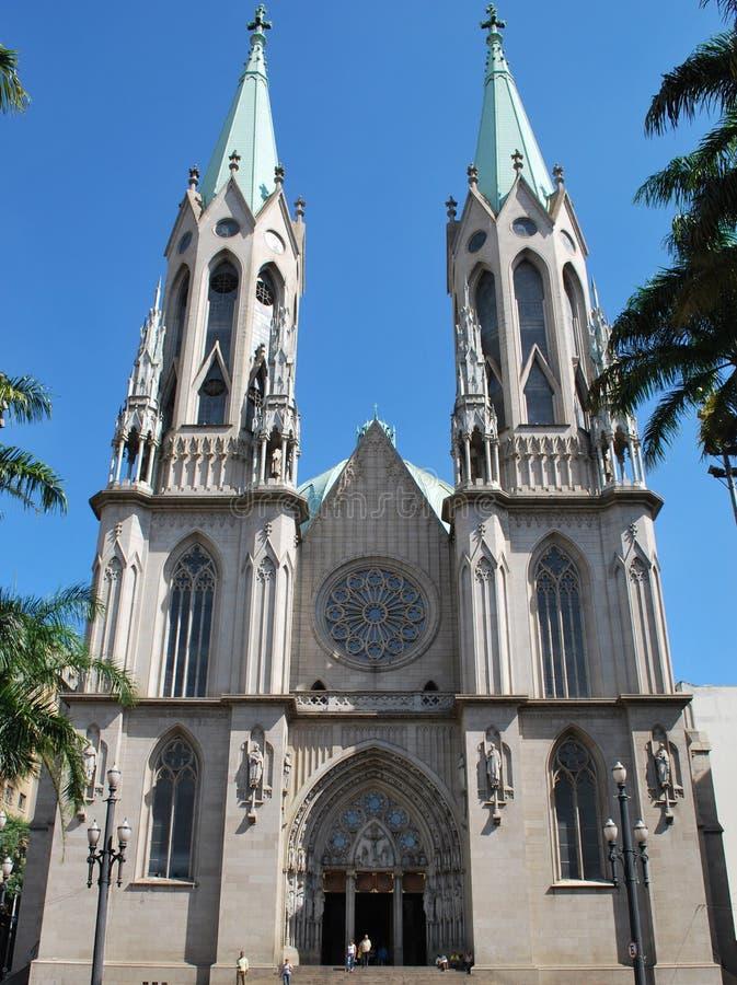 Catedral Sao Paulo foto de stock